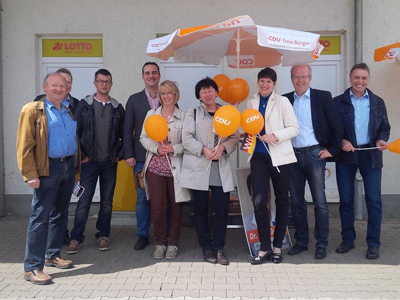 CDU-Kreisverband Ostalb - Info-Stand der Gemeinderatskandidatinnen ...
